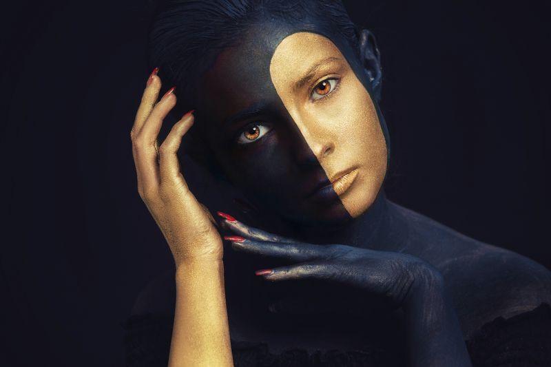 woman, makeup, digital ISABELphoto preview