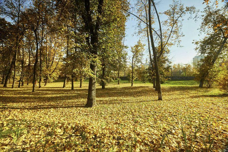 Московская осень… Парке Горького…photo preview