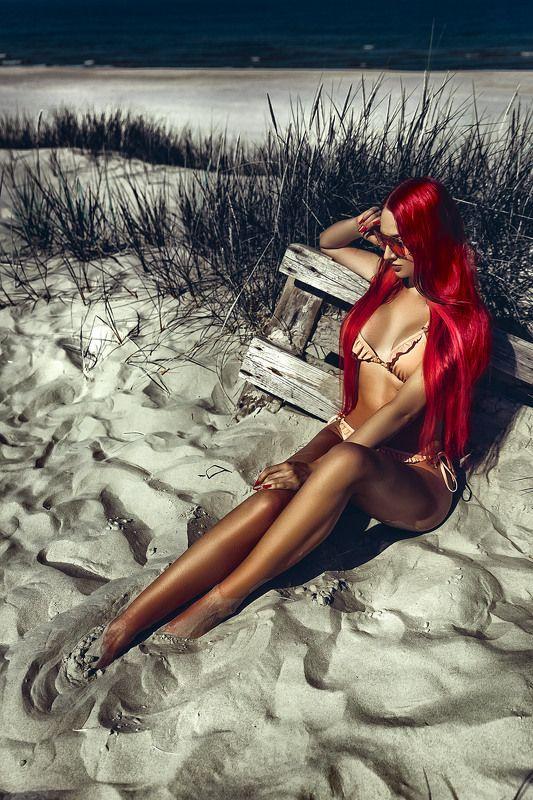 woman, portrait, fashion, beauty, outdoors Hot Summerphoto preview