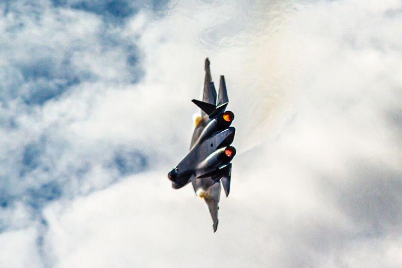 самолет, облака, истребитель, СУ, МИГ, скорость, истребители, вооружение, россия, ВВС, самолеты, гром photo preview