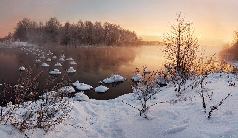 Наполняя утро светом или снежные пельмешки.photo preview