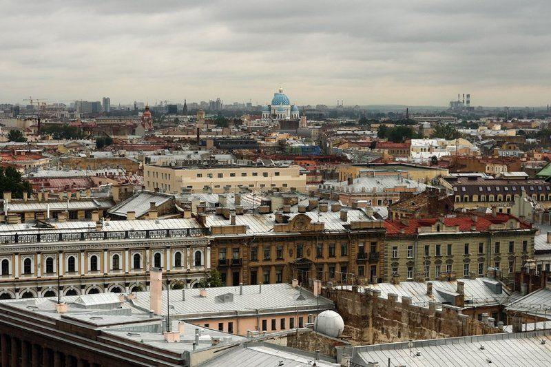 Питерские крыши.photo preview