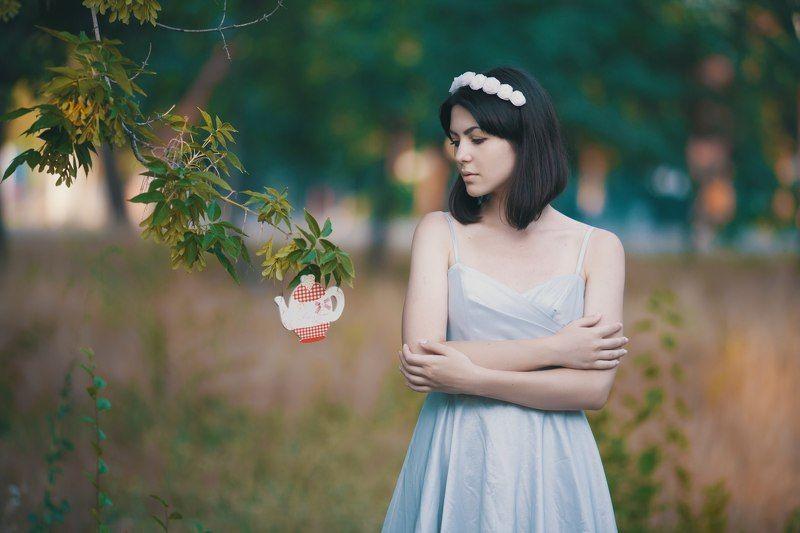 135 mm, Cute, Forest, Helena polansky, Portrait, Tea Vintage Tea Partyphoto preview