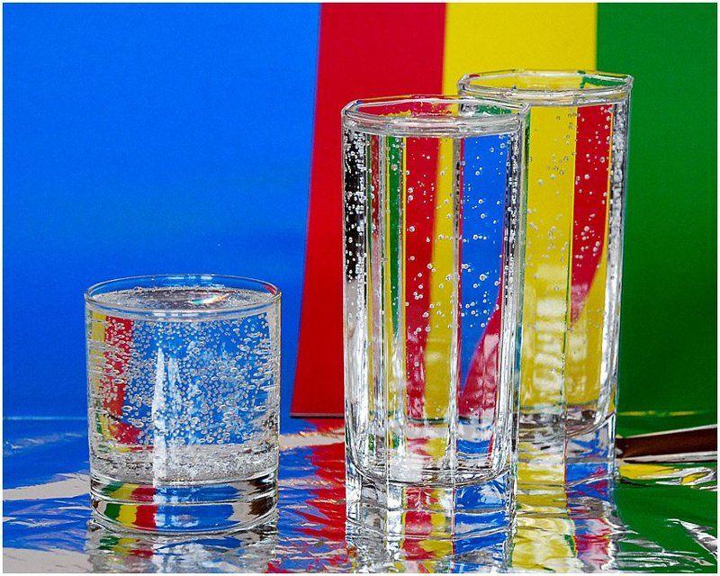 натюрморт, стакан, стекло, цвет О цвете...photo preview