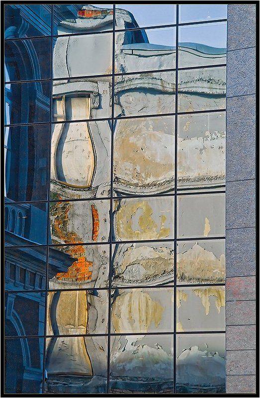 старый, город, рига, отражения, прибалтика Отражения старого городаphoto preview