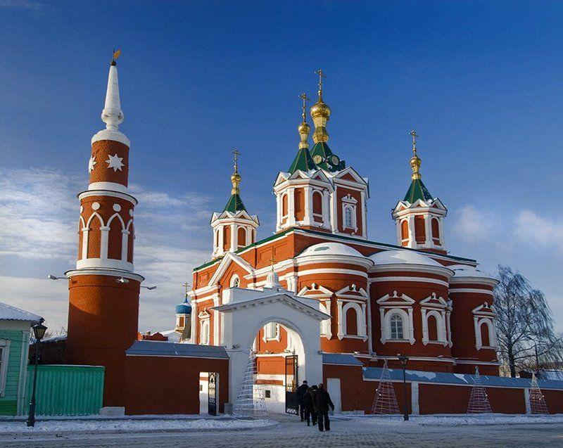 коломна, церковь Крестовоздвиженская церковьphoto preview