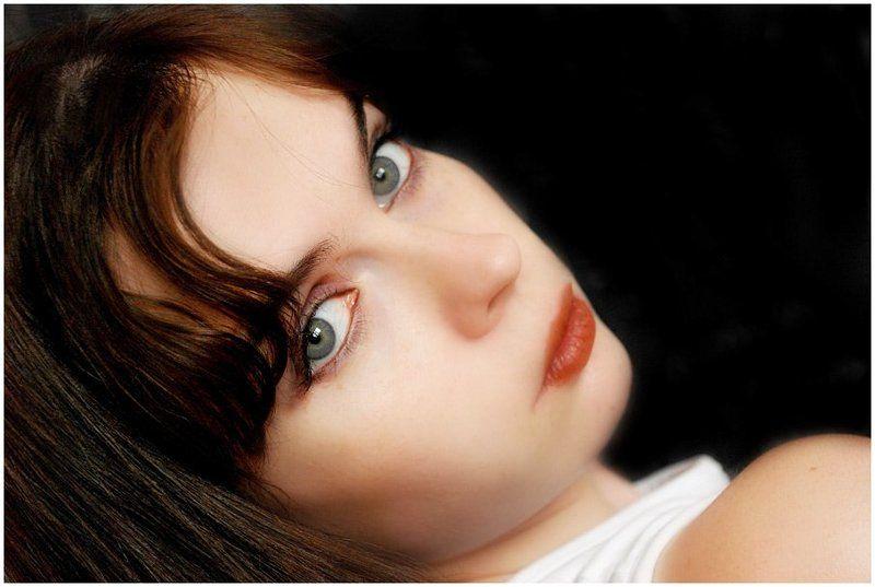 портрет, автопортрет, девушка неправильный портрет)))photo preview