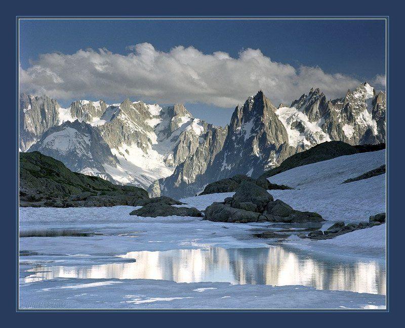 альпы Жаркое лето в холодных тонахphoto preview