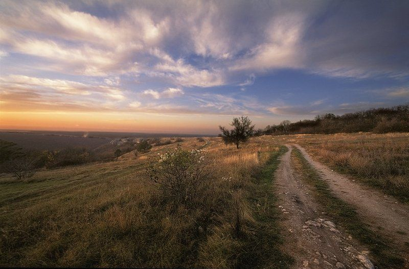Закат на Тащ-Джарганеphoto preview