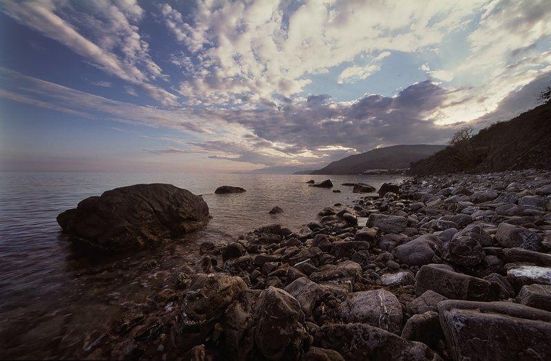У моря на закате.photo preview