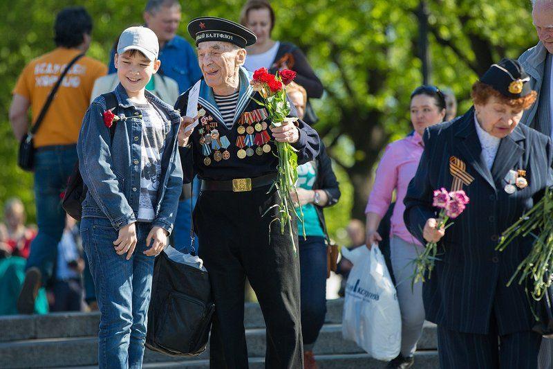 Ветераны, День Победы, Май, Праздник Связь поколений. 9 мая в Москвеphoto preview