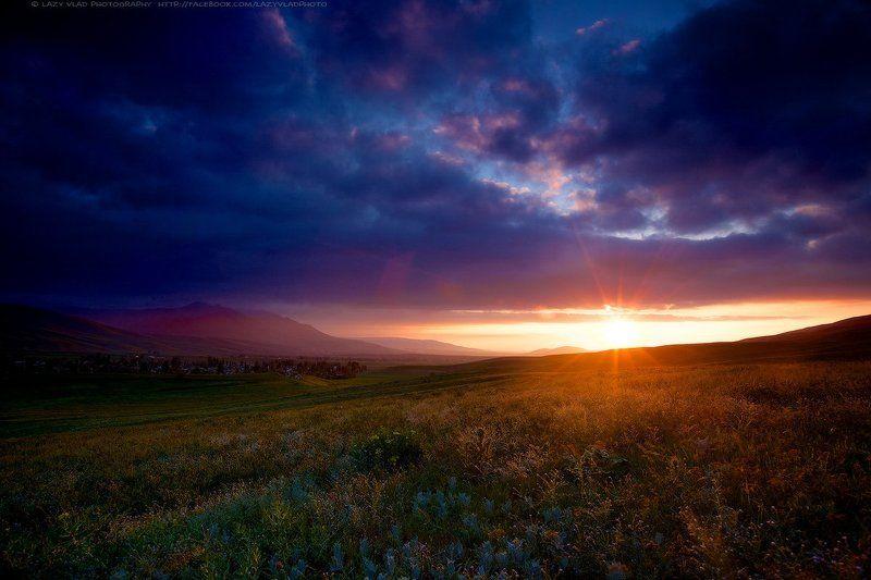 Bishkek, Clouds, Colours, Flowers, Kyrgyzstan, Landscape, Lazyvladphoto, Lazy_vlad, Mountains, Nophotoshop, Spring, Sunset, Бишкек, Весна, Горы, Закат, Киргизия, Облака, Пейзаж, Цветы Цвета уходящей Весныphoto preview