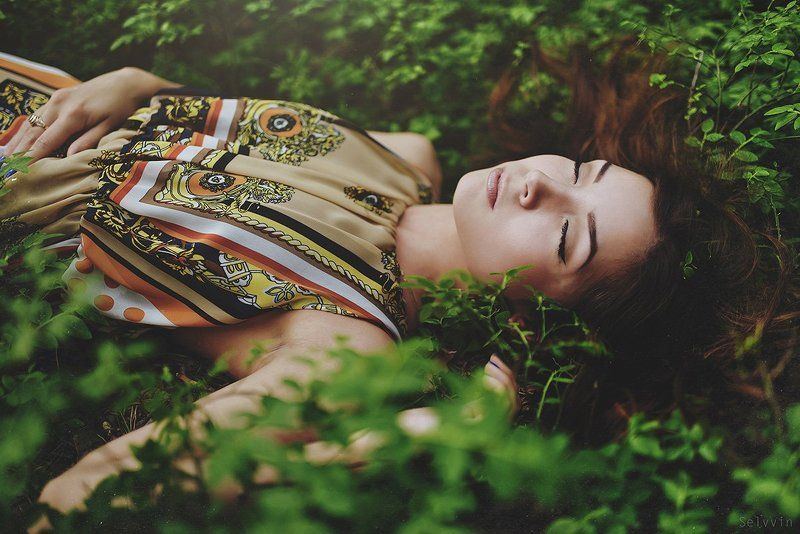 beauty, forest, #girl, #green, #orna Krisphoto preview