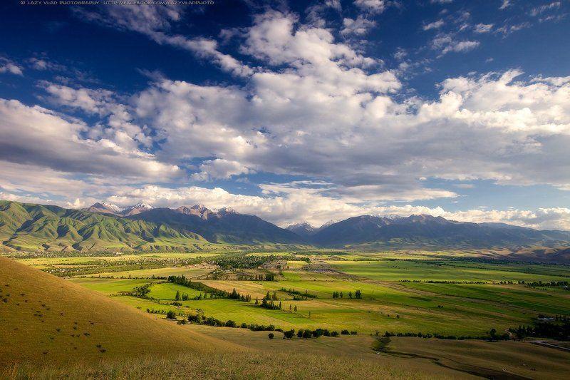 Bishkek, Clouds, Kyrgyzstan, Landscape, Lazyvladphoto, Lazy_vlad, Mountains, Nophotoshop, Ала-арча, Бишкек, Горы, Киргизия, Облака Облачный вечерphoto preview