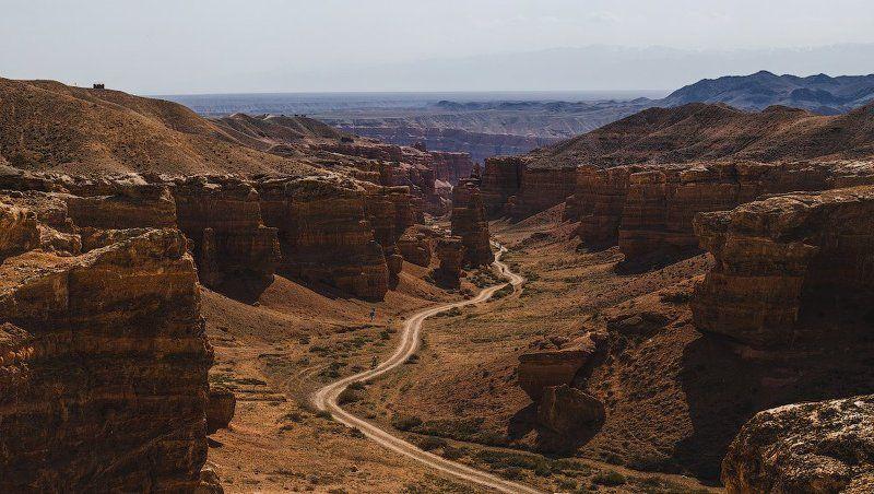 Автопутешествие по Юго-Восточному Казахстану или миссия на Марс - часть четвертая. (Чарынский каньон, Долина замков)photo preview