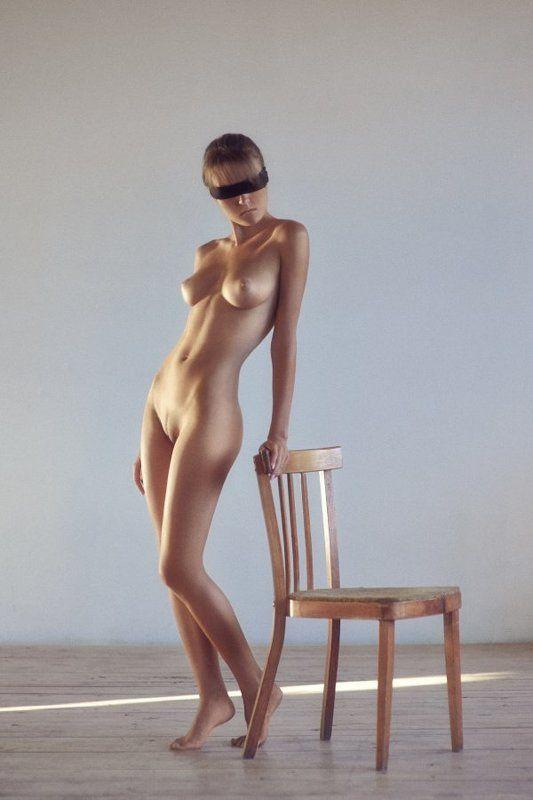 Art nu, Girl, Nu, Nude, Portrait, Sunlight ***photo preview
