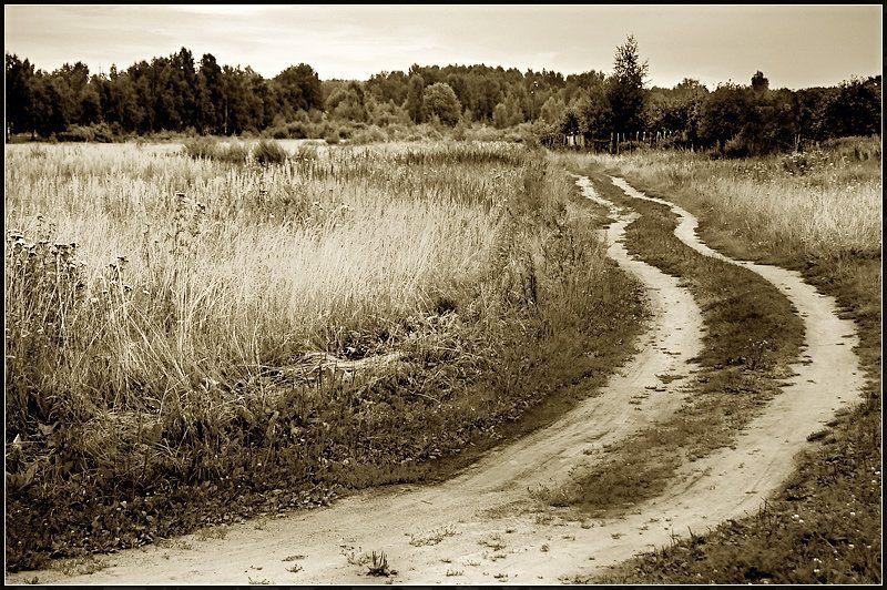 дороги, россия, лето, 2006 Быть в пути...photo preview