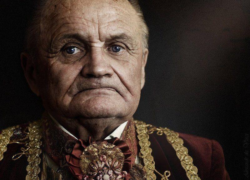 портрет, граф, князь, старик, дедушка, старинный костюм ***photo preview