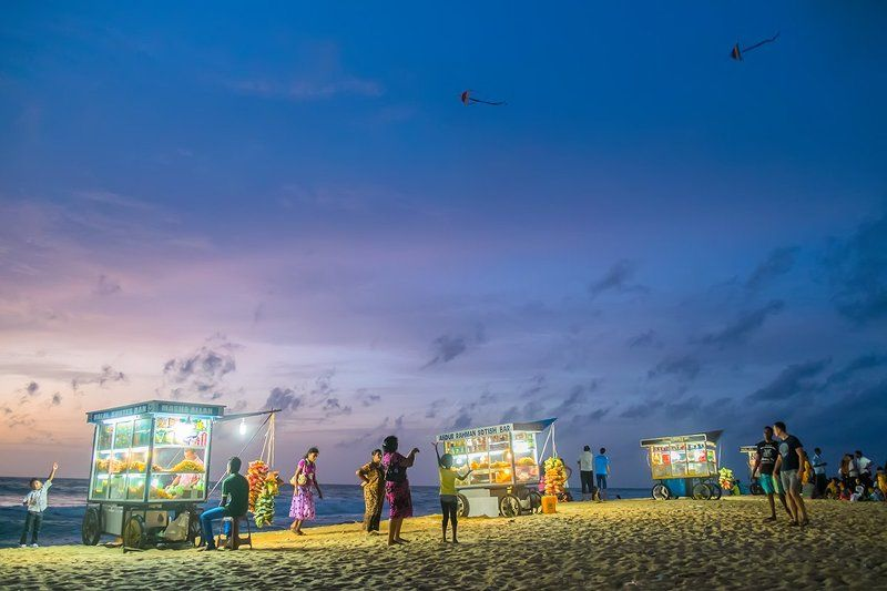Summer evening in Negombo...photo preview