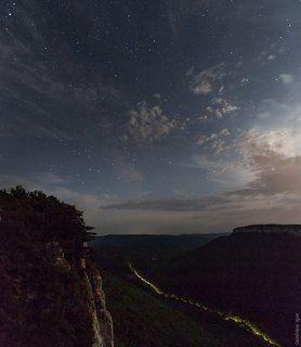 Лунная ночь на Мангупе