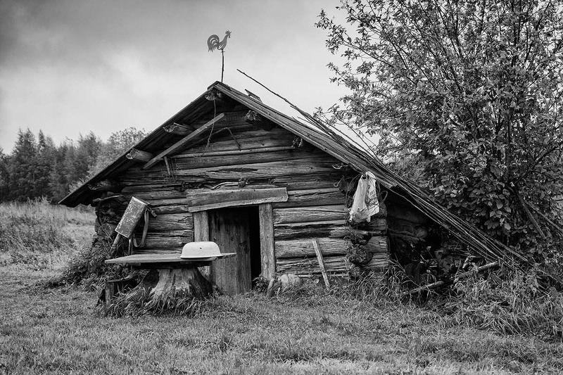Деревня, Изба, Пейзаж Банькаphoto preview