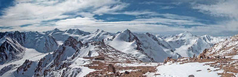 Almaty, Climb, Climbing, Clouds, Glacier, Hiking, Ice, Kazakhstan, Mountains, Peaks, Rocks, Sky, Snow, Summits Alatau.photo preview