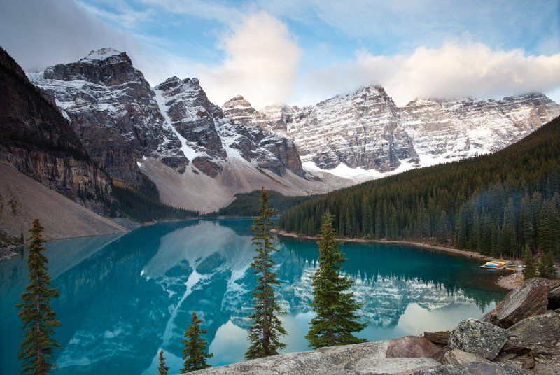 Canada, Canadian Rockies, Lake, Moraine One more Morainephoto preview