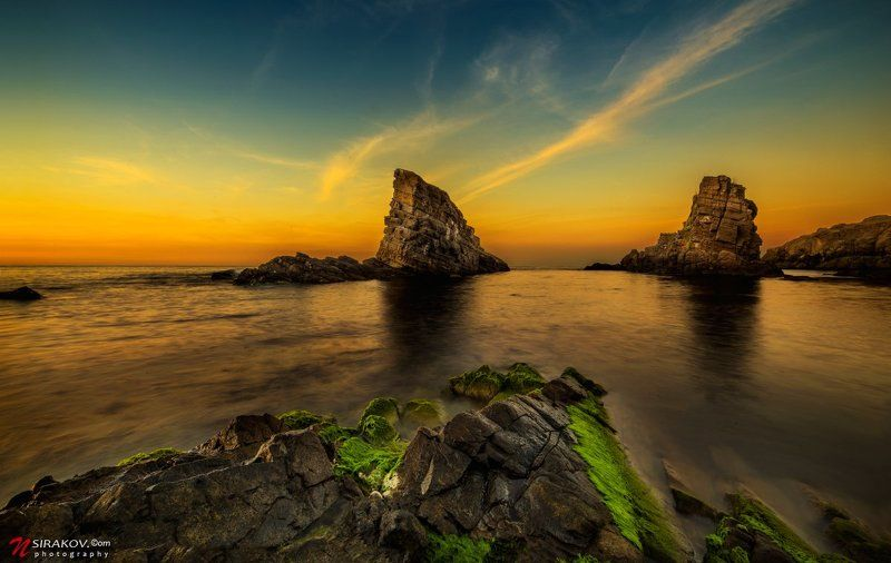 Tонущего корабля рядом Синеморец, Болгарииphoto preview
