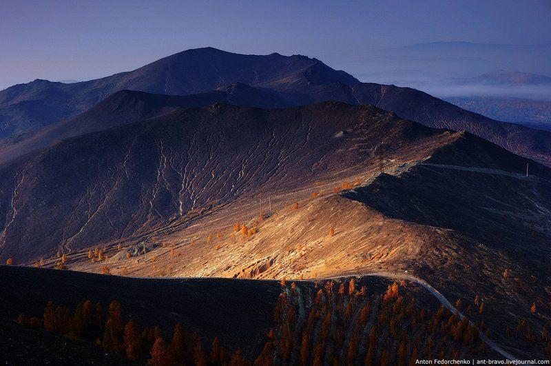 Горы, Карабаш, Осень, Южный урал Черные горы Карабашаphoto preview