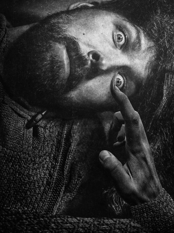 Bw, Eye, Hand, Klimt, Light, Mannerism, Photography, Portrait Klimtto Klimttamtophoto preview