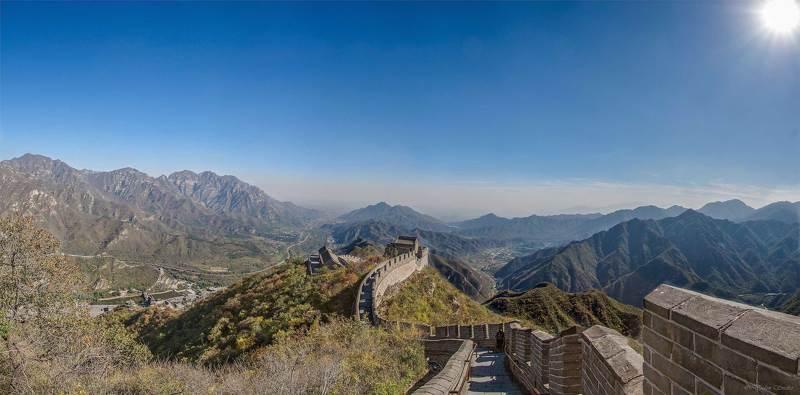 великая китайская, great wall Стена Китаяphoto preview