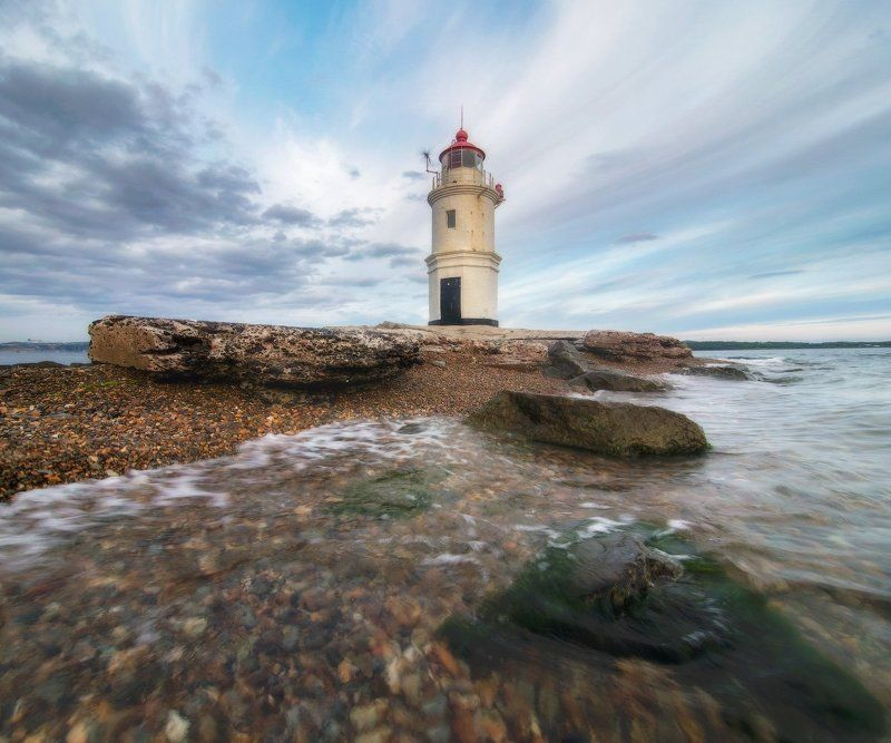 Волны маяка Эгершельдphoto preview