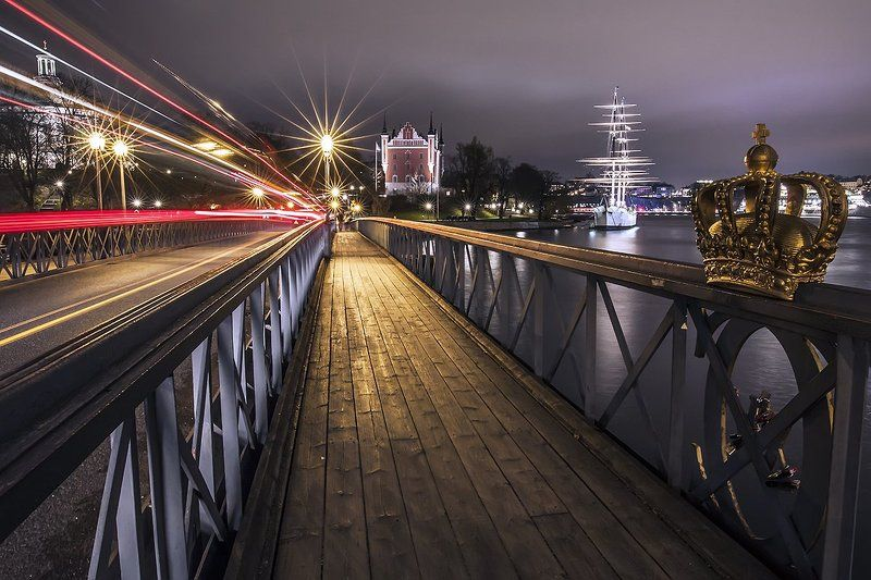 Classical view of Stockholmphoto preview