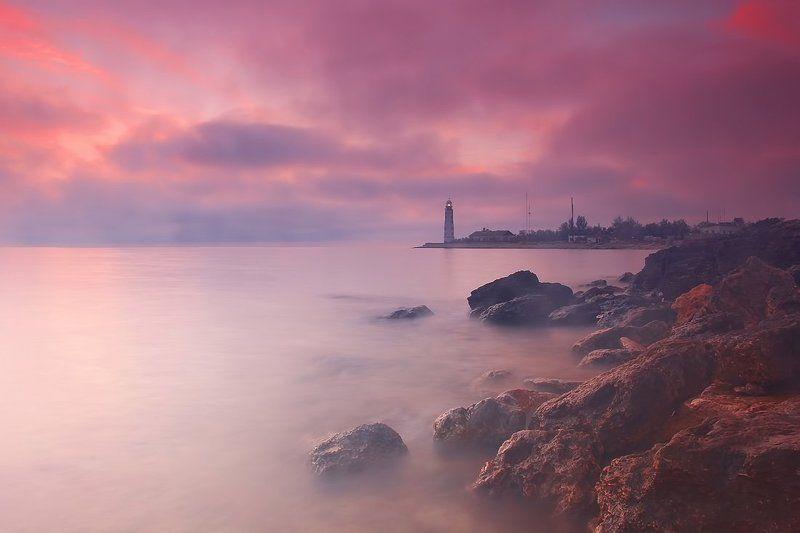 крым закат херсонесский маяк Закатphoto preview