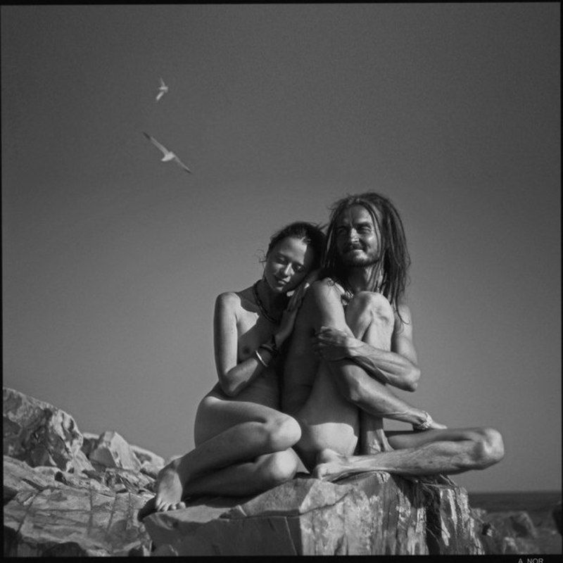 Александра и Лучик  (из проекта: Одетые солнцем)photo preview