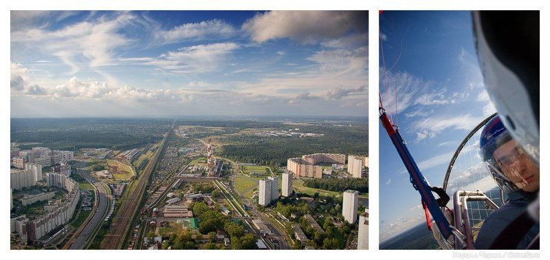зеленоград, кирилл чернов, параплан, полет, над городом, над зеленоградом Над городомphoto preview