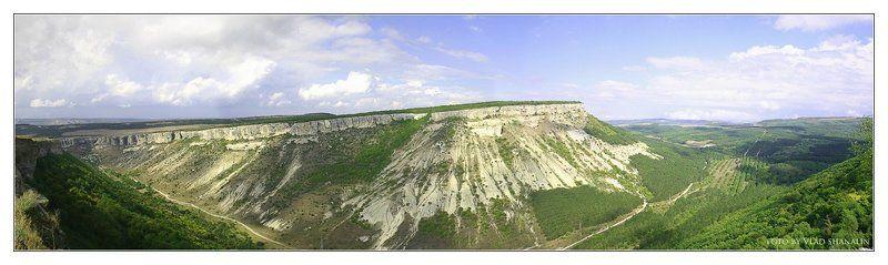 крым, чуфут-кале, панорама Крым. Чуфут-Кале. Панорамаphoto preview