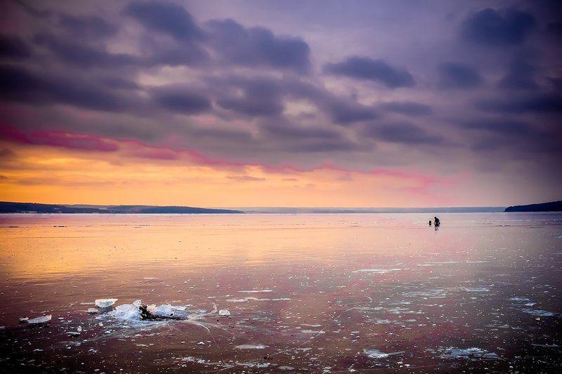 по первому льду...photo preview