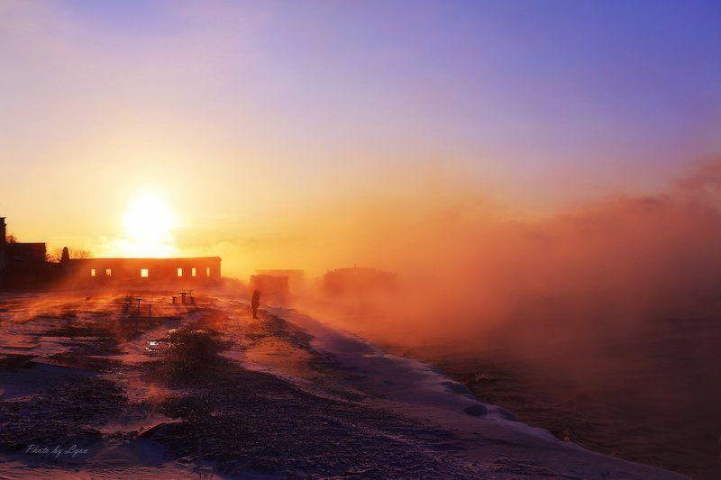 Озеро Байкал Озеро Байкал утромphoto preview