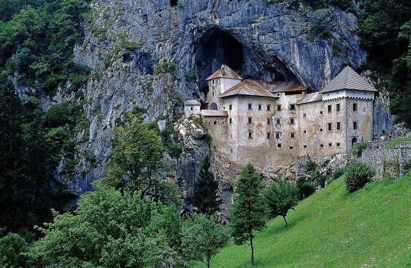 Architettura, Castello, Natura, Roccia Predjamaphoto preview