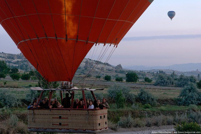 каппадокия, полет, утро, шар Cappadocia balloons IIphoto preview