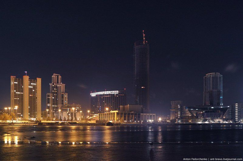 city, cityscape, ekaterinburg Сити. Начало ноябряphoto preview