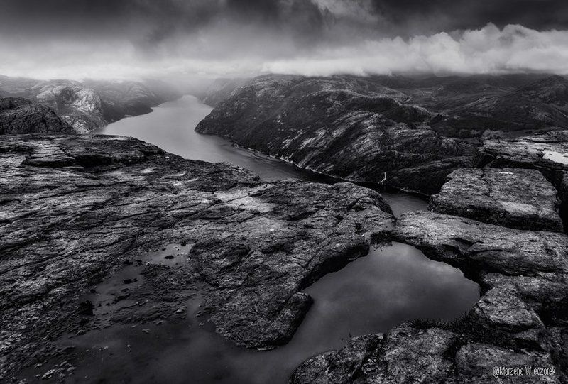 Preikestolen in BWphoto preview