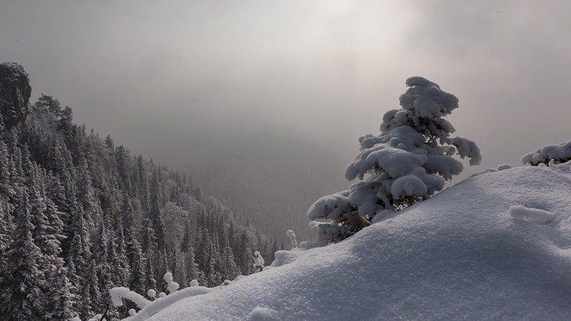 Тихо падал снег...photo preview