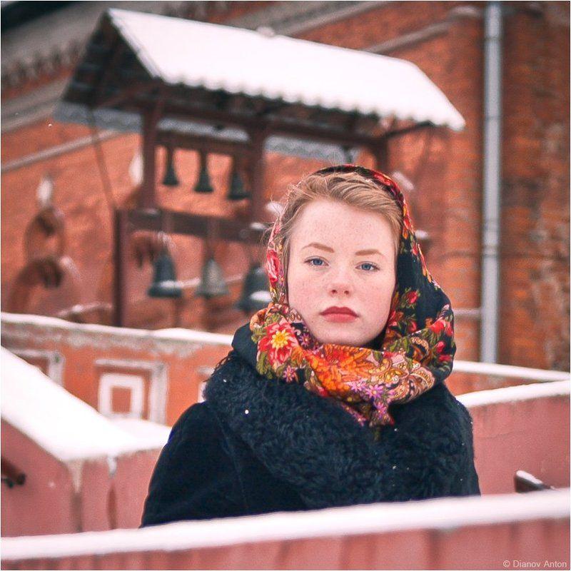 Боярыня, Морозова, зима, Москва,, Храм Молодые годы боярыниphoto preview