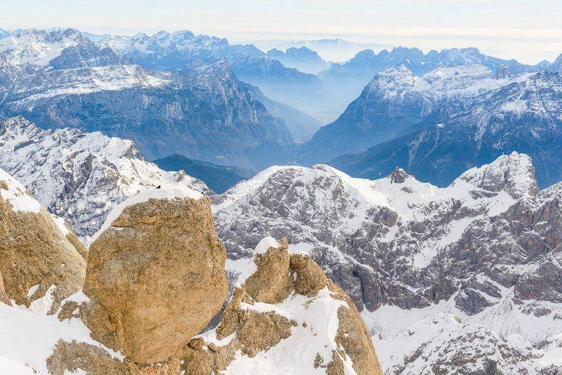 Горы, Доломиты, Италия, Мармолада, Природа Мармоладаphoto preview