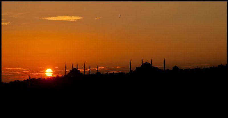 Стамбул, Турция Силуэты Стамбулаphoto preview