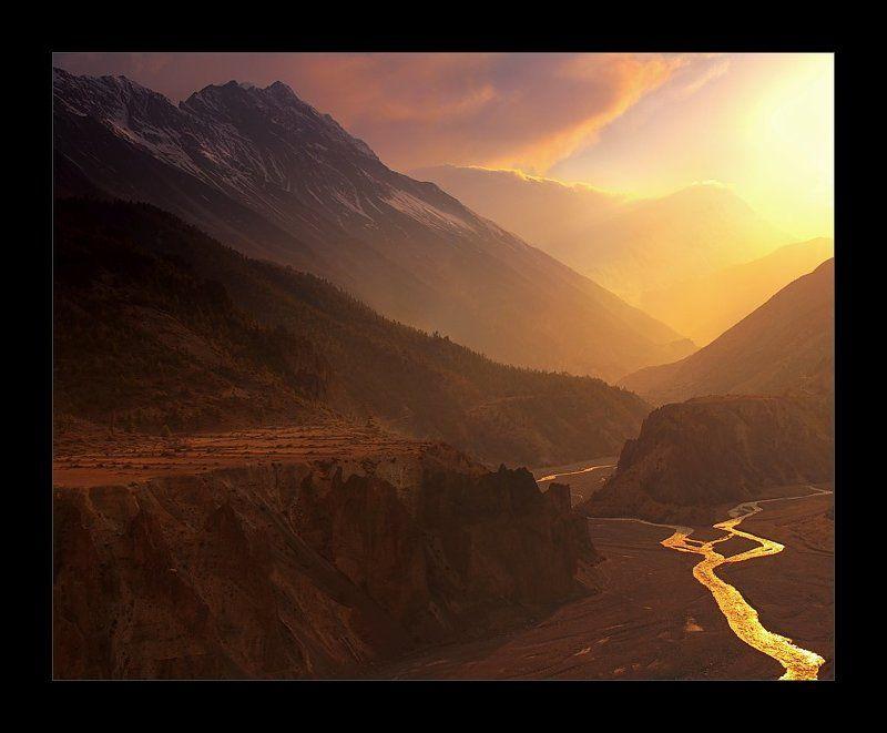непал, гималаи, мананг, тиличо Путь к Тиличоphoto preview