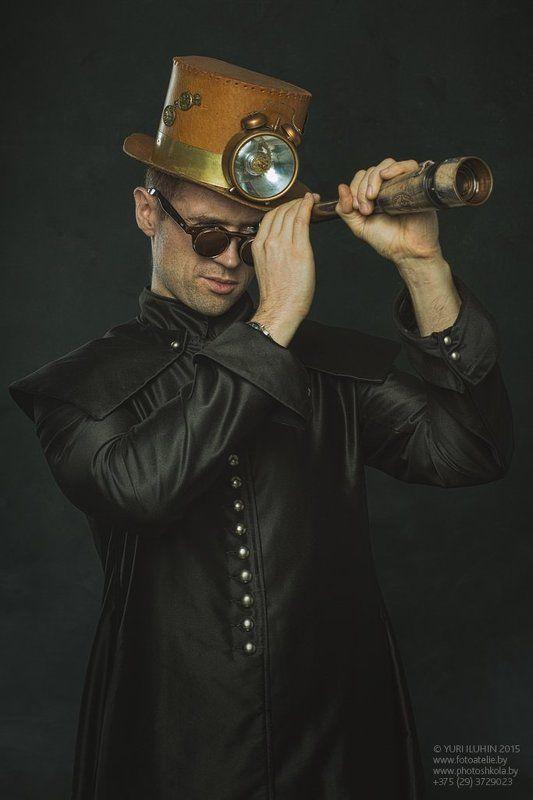 portrait, steampunk, toned, retro Steampunkphoto preview