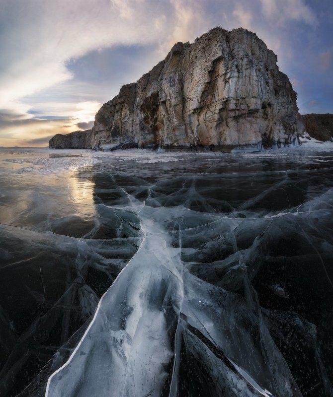 В поисках чистого льда. Байкал, остров Ольтрек.photo preview